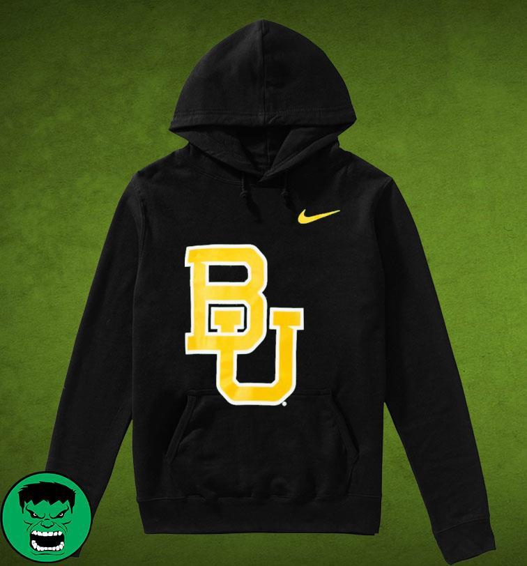 Nike Baylor Bears Logo Legend Performance T-Shirt Hoodie