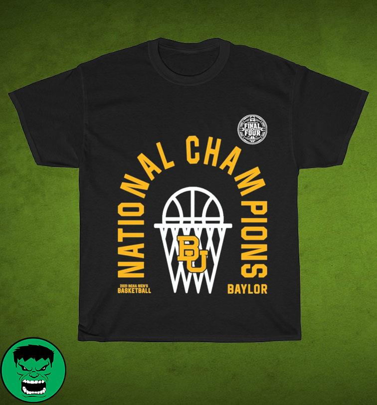 Official BU Baylor Bears 2021 NCAA Men's Basketball National Champions Arc Velocity Shirt