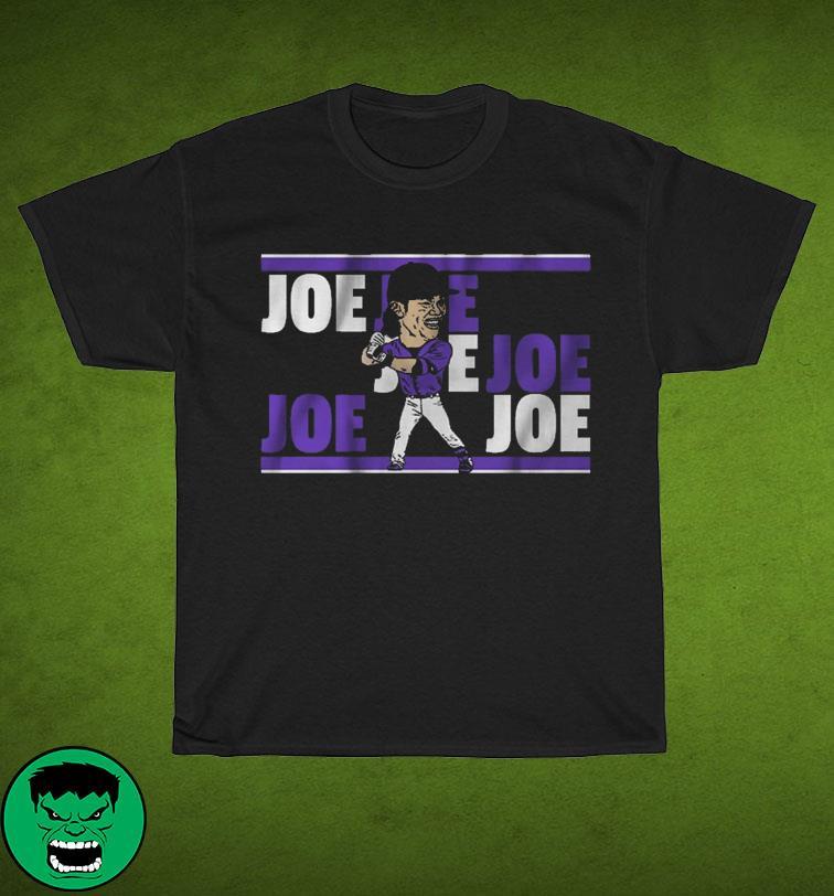 JOE JOE JOE baseball shirt