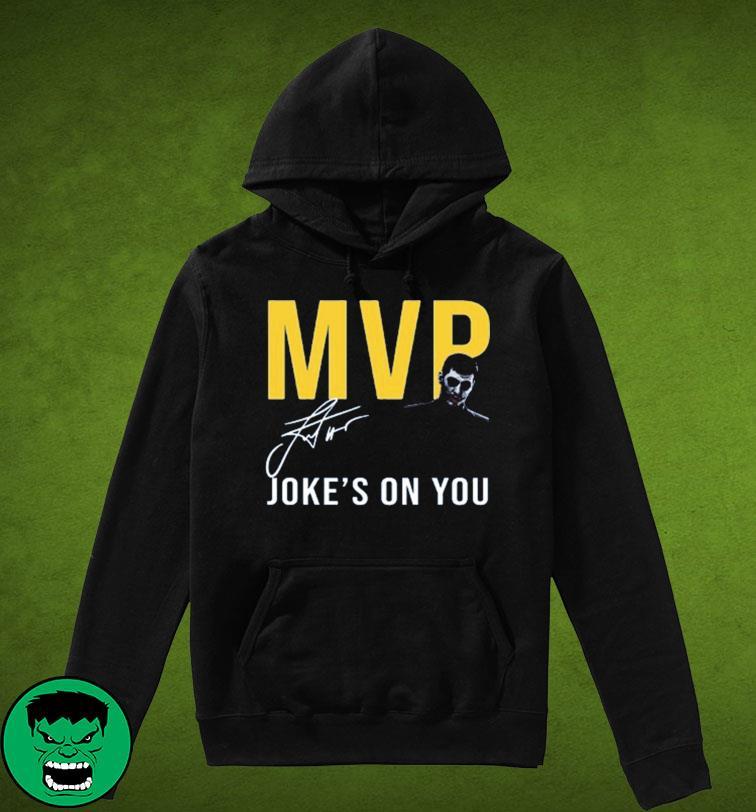 The Nikola Jokić Too Skinny Can't Jump MVP Joke's On You Michael Malone Shirt Hoodie