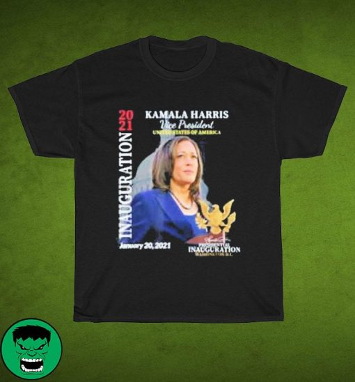 Kamala Harris 2021 Inauguration Day Commemorative Souvenir Women's Shirt